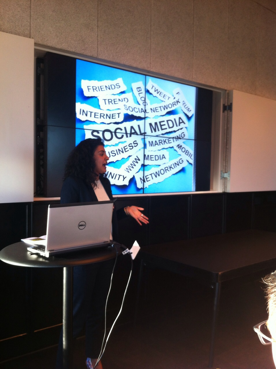 Social Media Masterclass at United Kingdom Housekeepers Association (UKHA) Event